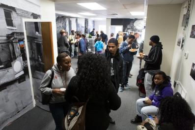 Photo of STILL SEARCHING attendees by Steve Weinik