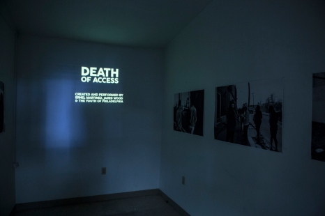 Death of Access by Ernel Martinez. Photo by Steve Weinik. 05
